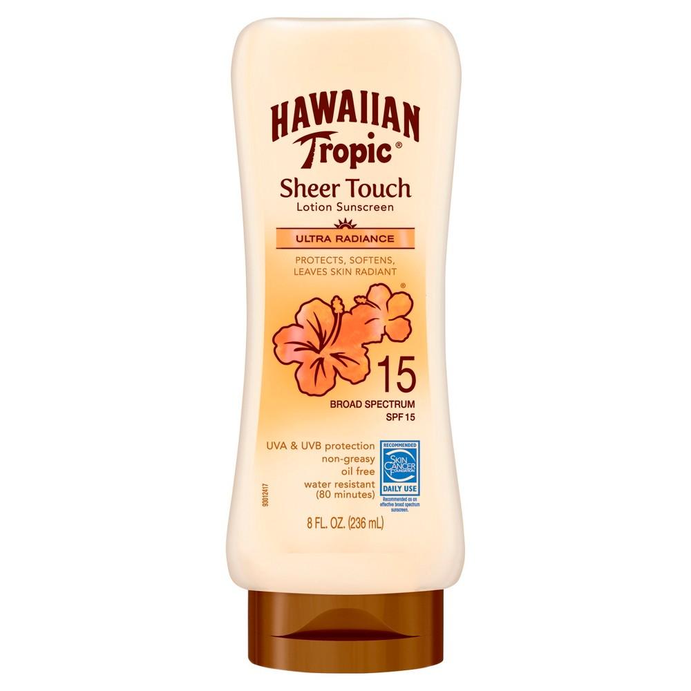 Image of Hawaiian Tropic Sheer Touch Ultra Radiance Lotion Sunscreen - SPF 15 - 8oz