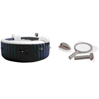 Intex PureSpa 4 Inflatable Hot Tub + Intex Hot Tub Maintenance Kit