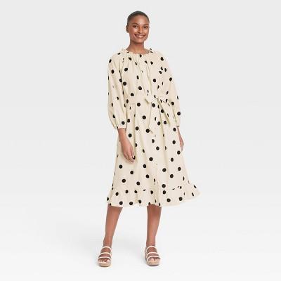 Women's Balloon Long Sleeve Dress - Who What Wear™
