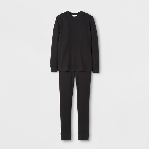 27168a88f Boys  Thermal Underwear - Cat   Jack™ Black   Target