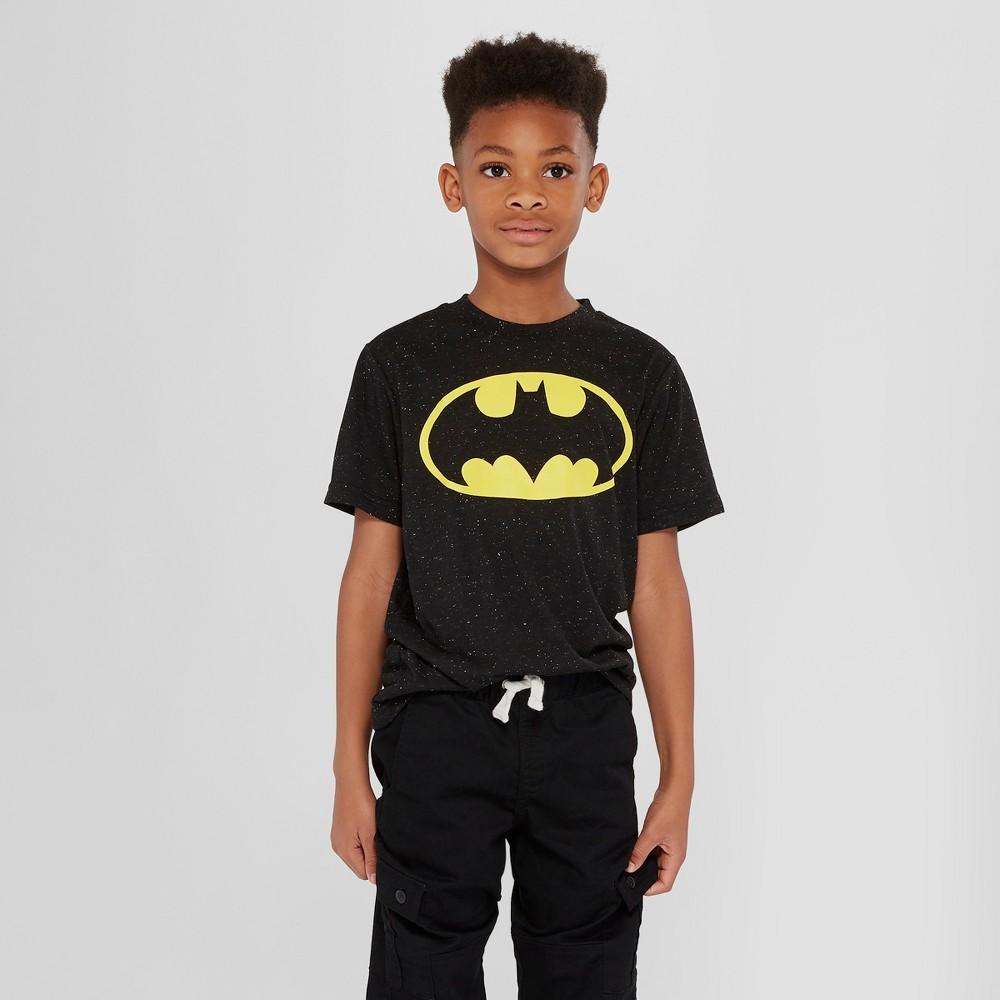 Boys' Batman Graphic T-Shirt - Black XS