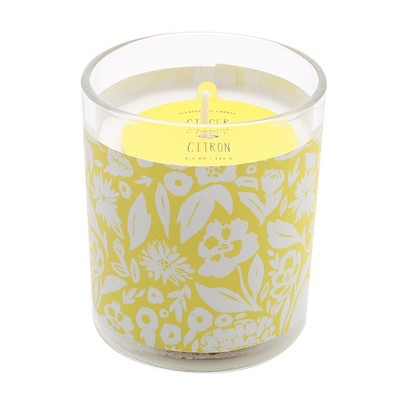 4.4oz Sleeved Glass Jar Candle Ginger Citron - Opalhouse™