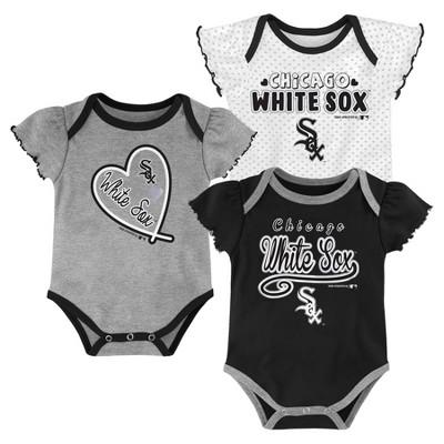 MLB Chicago White Sox Girls' Bodysuit - 6-9M