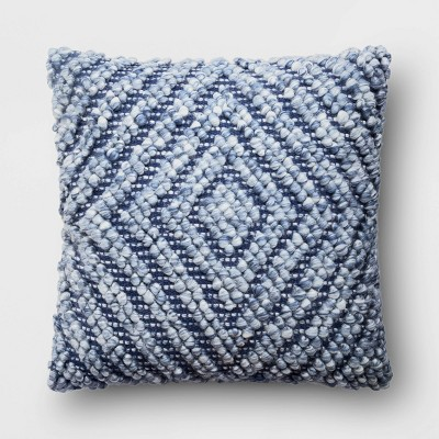 Square Chunky Diamond Patterned Throw Pillow​ - Project 62™