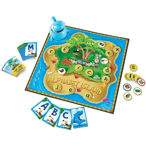 Learning Resources Alphabet Island Letter/Sounds Game - image 1 of 4