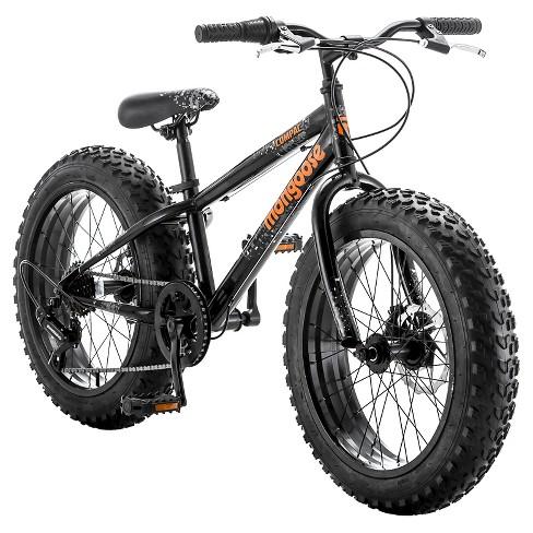 Mongoose Compac Mountain 20 Kids Bike Black Orange Target