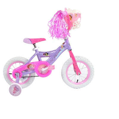 "Huffy Disney Princess 12"" Cruiser Kids' Bike - Purple"