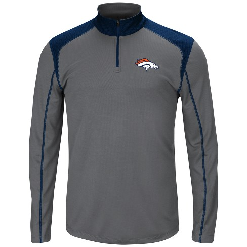 Denver Broncos Men's Classic Victory Quarter Zip Pullover - image 1 of 2