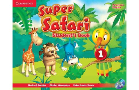 Super Safari American English, Level 1 : Student's Book, Workbook, and Letters and Numbers (Paperback) - image 1 of 1