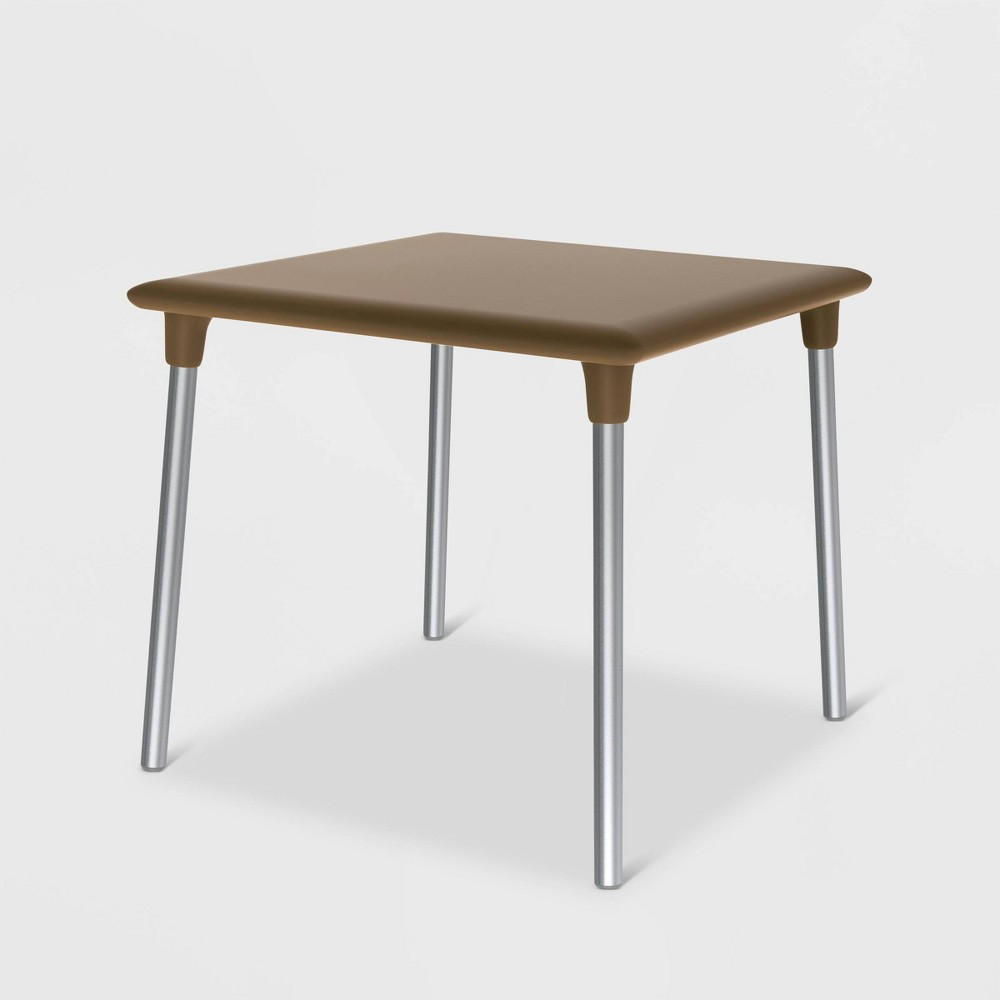 Image of New Flash Square Patio Table - Gray - RESOL