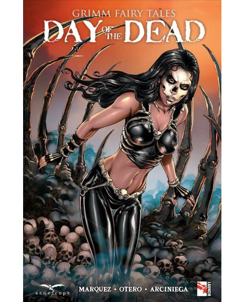 Grimm Fairy Tales Presents : Day of the Dead -  by Dawn Marquez (Paperback) - image 1 of 1