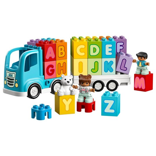 LEGO DUPLO My First Alphabet Truck Educational Toy for Toddlers 10915 image number null