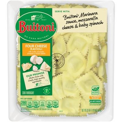 Buitoni All Natural Four Cheese Ravioli - 20oz