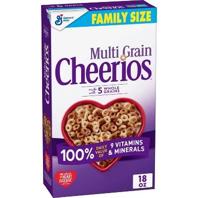 General Mills Multi Grain Cheerios Cereal - 18oz