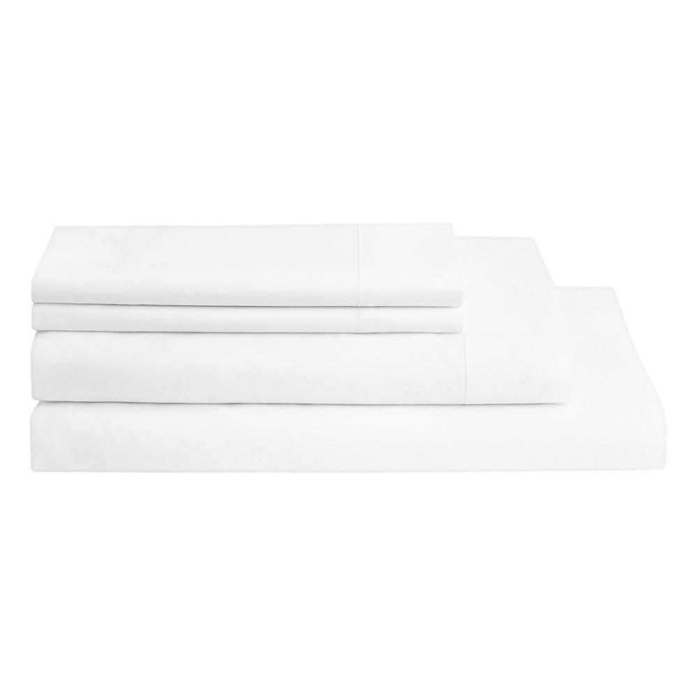 The Casper Sheet Set - King White/White