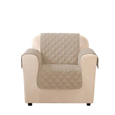 Microfiber Non-Slip Chair Furniture Protector - Sure Fit