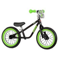 """""""Schwinn Skip 4 12"""""""" Kids' Balance Bike - Black/Green, Kids Unisex"""""""