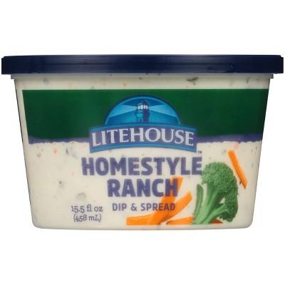 Litehouse Homestyle Ranch Dip & Spread - 15.5 fl oz