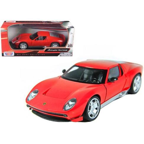 Lamborghini Miura Concept Red 1 24 Diecast Car Model By Motormax