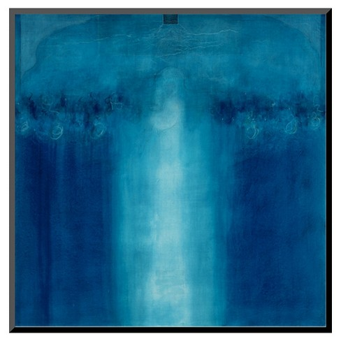 Art.com Untitled Blue Painting, 1995 by Charlie Millar - Mounted Print - image 1 of 2