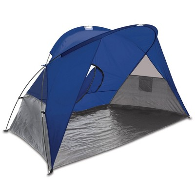 Picnic Time Cove Beach Tent  - Blue