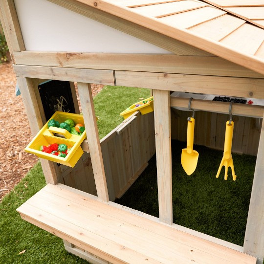 KidKraft Meadow Lane Market Playhouse image number null