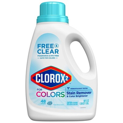 Clorox 2 for Colors - Free & Clear Stain Remover and Color Brightener - 66oz