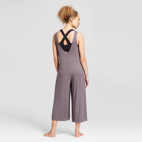 5b4fe28671f Women s Loose Yoga Jumpsuit - JoyLab™ Eiffel Tower Gray XXL   Target