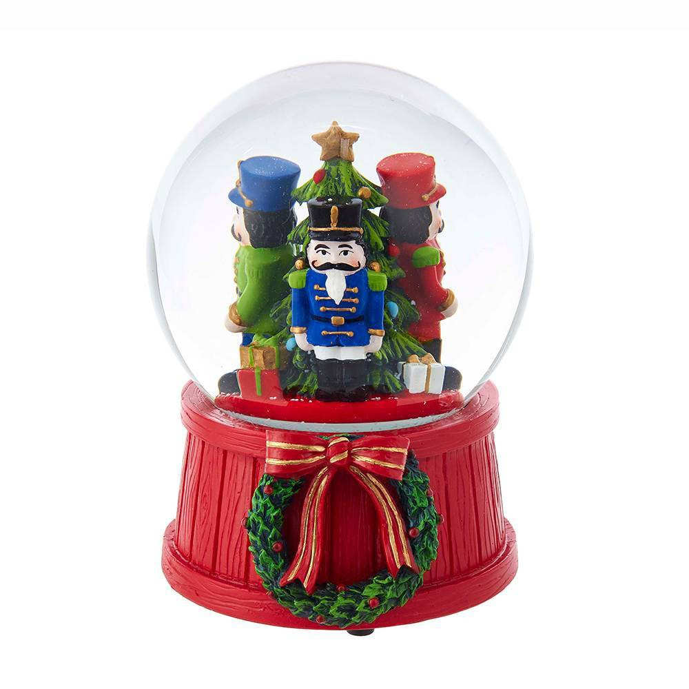Image of 100mm Kurt Adler Nutcracker Suite Musical Water Globe