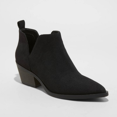 Women's Cari Cut Out Ankle Boots - Universal Thread™