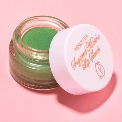 Winky Lux Sugared Matcha Lip Scrub - 0.024oz