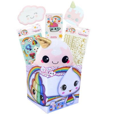 Toynk Glitter Galaxy LookSee Gift Box | Includes 6 Glitter Galaxy Themed Collectibles