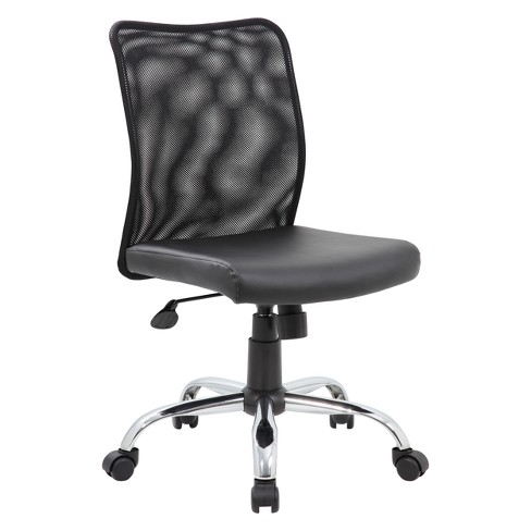 Budget Mesh Task Chair Black - Boss - image 1 of 1