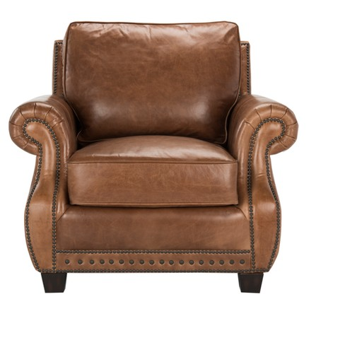 Accent Chairs Coffee - Safavieh - image 1 of 5