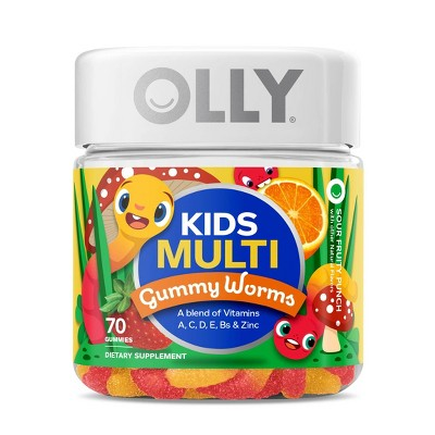 Multivitamins: Olly Kids Multi Gummy Worms