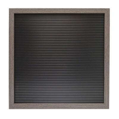 14 x14  Letter Board Decorative Wall Art Black - Room Essentials™