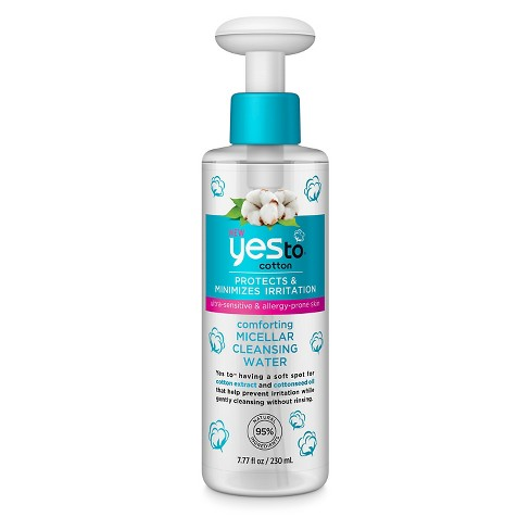 Yes to® Cotton Micellar Cleansing Water - 7.77 oz - image 1 of 1