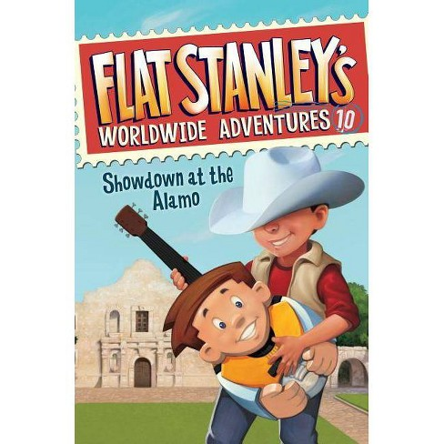 Showdown at the Alamo - (Flat Stanley's Worldwide Adventures) by  Jeff Brown (Hardcover) - image 1 of 1