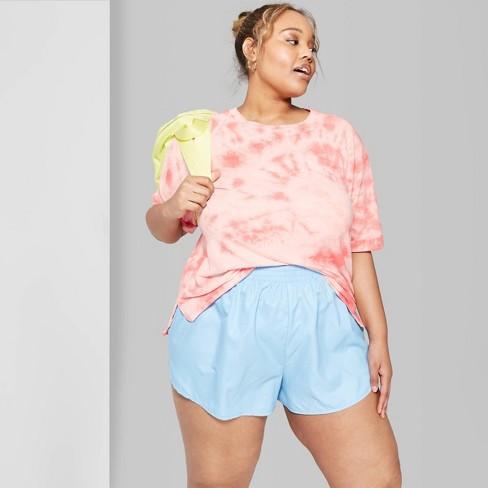 55bd64aba00 Women s Plus Size Short Sleeve Crewneck Oversized T-Shirt - Wild Fable™  Orange