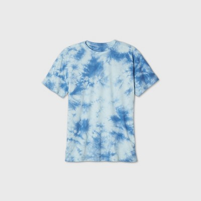 Men's Tie-Dye Short Sleeve Crewneck T-Shirt - Original Use™ Blue
