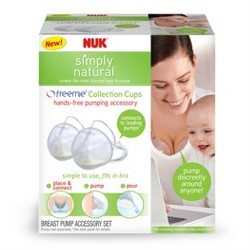 Nuk Simply Natural Freemie Collection Cups