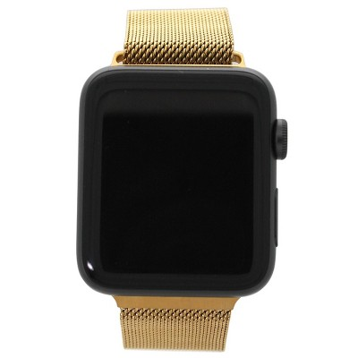 Olivia Pratt Solid Mesh Apple Watch Band