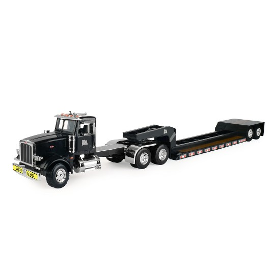 Big Farm Peterbilt Model 367 with Lowboy Trailer image number null