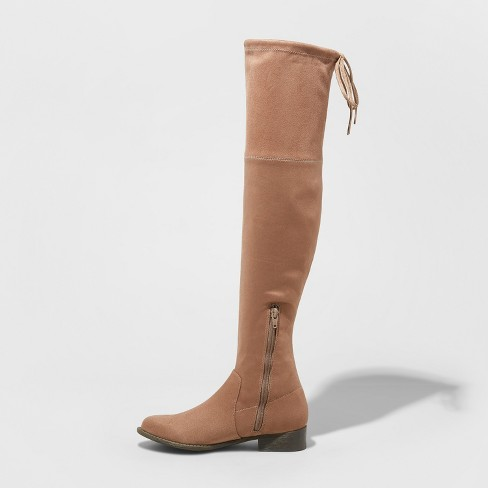 e76d0ac6f62 Women s Sidney Wide Width Over The Knee Sock Boots...   Target