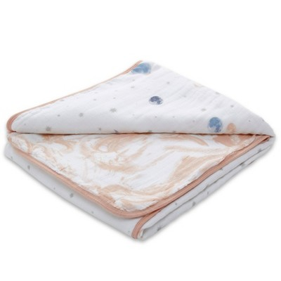 Aden + Anais Essentials Muslin Blanket To The Moon