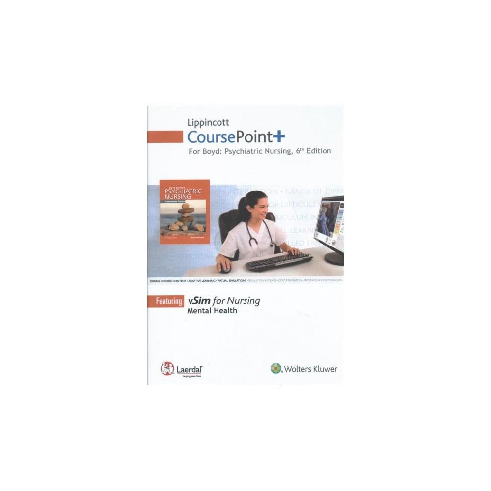 Lippincott Coursepoint+ for Boyd Psychiatric Nursing, Access Card : Digital Course Content - Adaptive