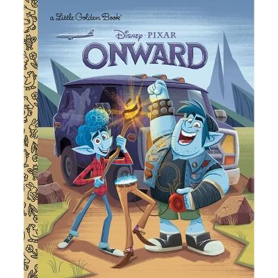 Onward Little Golden Book (Disney/Pixar Onward)- (Hardcover)- by Courtney Carbone