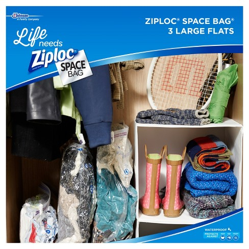 Ziploc 3 Pack Space Bag Large Target