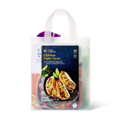 Chicken Fajita Tacos Meal Bag - 42.2oz