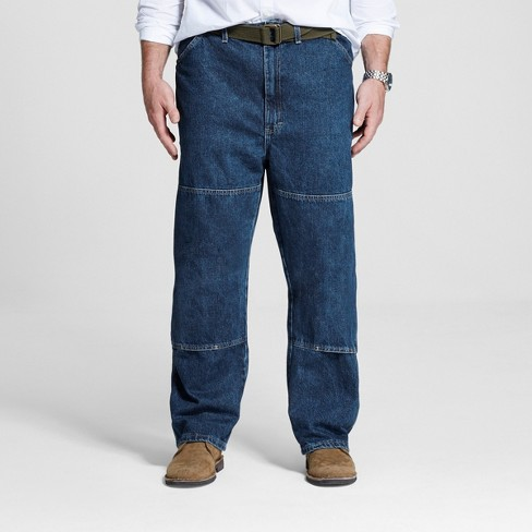Dickies Men's Big & Tall Relaxed Straight Fit Double Knee Denim Carpenter Jeans - image 1 of 4